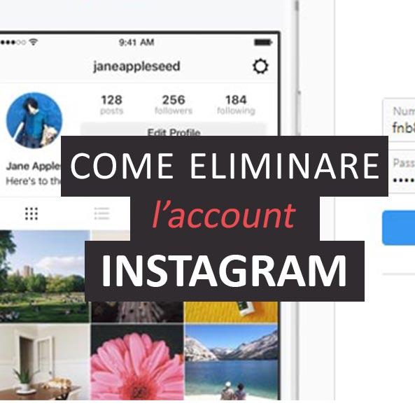 Come eliminare profilo Instagram | Salvatore Aranzulla